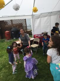 children and I dancing